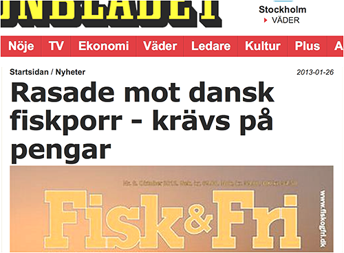 Rasar i Aftonbladet