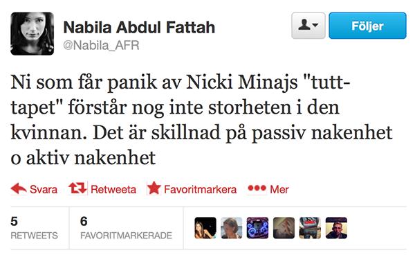 Abdul Fattah om Minaj 600