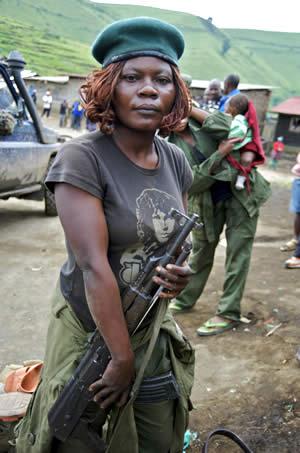 Afrikansk soldat