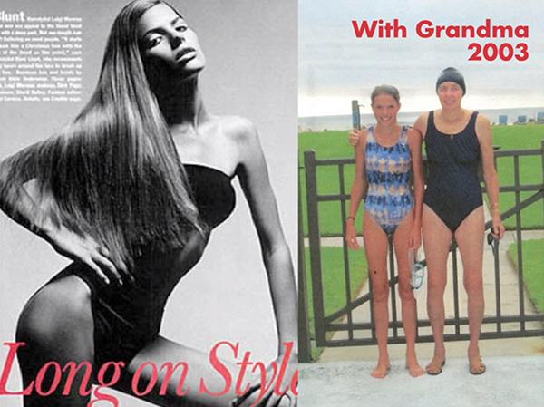 Cameron Russel med grandma