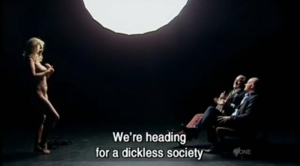 Da dickless society