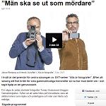 """2015-03-04 """"Män ska se ut som mördare"""""""