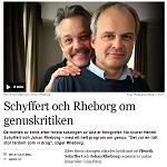 2015-03-04 Schyffert och Rheborg om genuskritiken