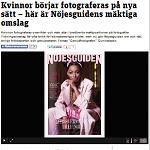 2015-02-28 Kvinnor börjar fotograferas på nya sätt - här är Nöjesguidens mäktiga omslag
