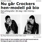 Aftonbladet 2014-02-28 Nu går Crockers hen-modell på bio