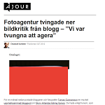 Ajour 20120712 Fotoagentur tvingade ner bildkritik från blogg 2