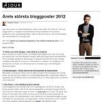 Ajour 20121227 Årets största bloggposter 2012 2