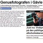 Arbetarbladet 2014-04-22 Genusfotografen i Gävle
