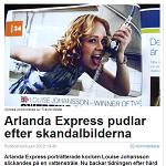 Dagens Media 20120608 Arlanda Express pudlar efter skandalbilderna 2