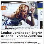 Dagens Media 20120608 Louise Johansson ångrar Arlanda Express-bilderna 2
