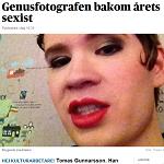 Dagens Nyheter 2014-02-24 Genusfotografen bakom årets sexist