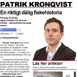 Expressen 20130129 Patrik Kronqvist krönika En riktigt dålig fiskehistoria