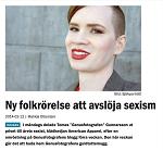 Feministiskt Perspektiv 2014-02-12 Ny folkrörelse att avslöja sexism