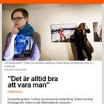 Hela Hälsingland 2014-02-08 Det är alltid bra att vara man