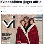 Helsingborgs Dagblad 2012-06-13 Kvinnobilden ljuger alltid