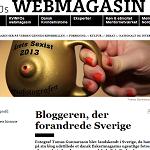 KVINFOs Webmagasin 2014-02.28 Bloggeren der forandrede Sverige