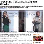 Metro 20130415 Sexistisk reklamkampanj dras tillbaka