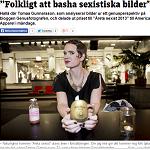 Metro 2014-02-12 Folkligt att basha sexistiska bilder