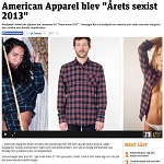 Metro 20140207 American Apparel Årets sexist 2013