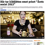 Metro 20140210 Här tar klädjätten emot priset
