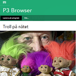 P3 Browser 20121014 Troll på nätet2