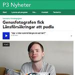 P3 Nyheter 20130518 Genusfotografen fick Länsförsäkringar att pudla