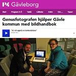 P4 Gävleborg 2014-10-24 Genusfotografen hjälper Gävle kommun med bildhandbok