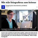 P4 Gotland 2013-11-14 När män fotograferas som kvinnor