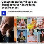 P4 Norrbotten 2013-09-16 Genusfotografen vill vara en ögonöppnare Könsrollerna begränsar oss