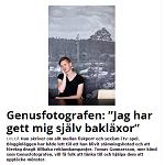 Piteå-Tidningen 2013-12-21 Genusfotografen Jag har gett mig själv bakläxor