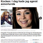 SVT Nyheter 20120608 Kocken Idag hade jag agerat annorlunda