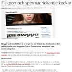 Svenska Yle 2013-01-02 Fiskporr och spermadrickande kockar