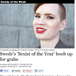 The Local 20140206 Swede's Sexist of the Year boob up for grabs