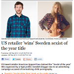 The Local 20140208 US retailer wins Sweden sexist of the year title