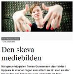 Uppsala Nya Tidning 2013-10-17 Den skeva mediebilden
