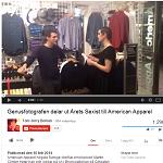 YouTube 2014-02-10 Genusfotografen delar ut Årets sexist till American Apparel