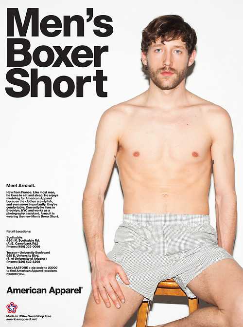 American Apparel boxer short
